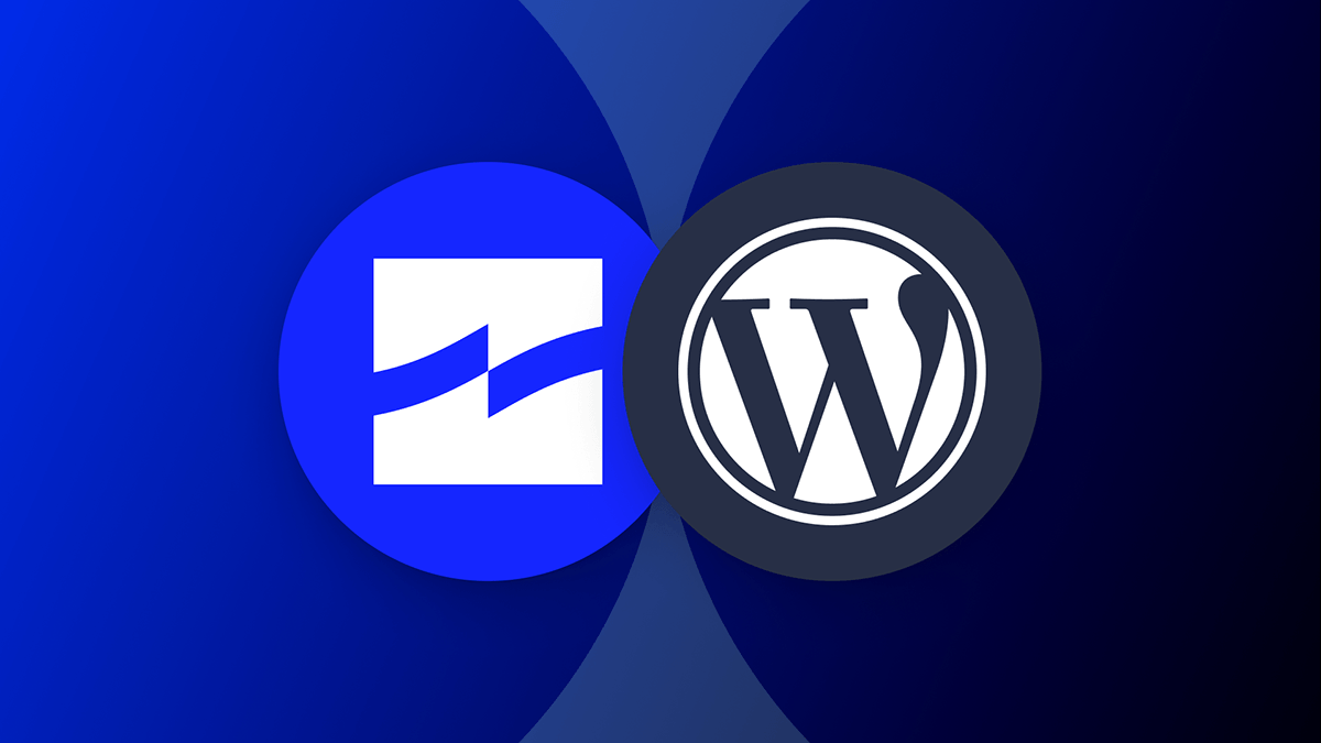 The WordPress and Tide logos.