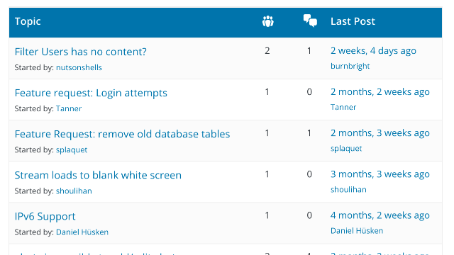 A screenshot of a WordPress plugin support forum.