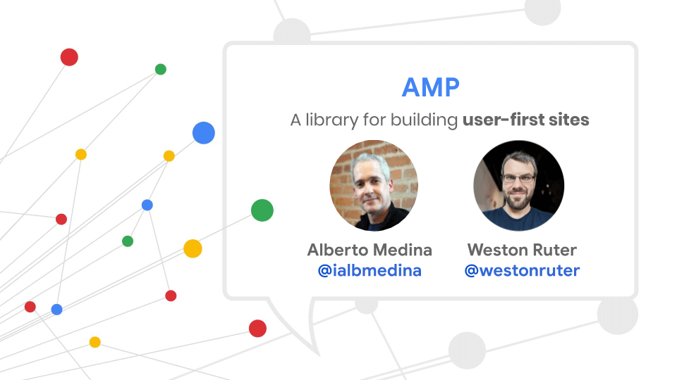 AMP, a library for building user-first sites.